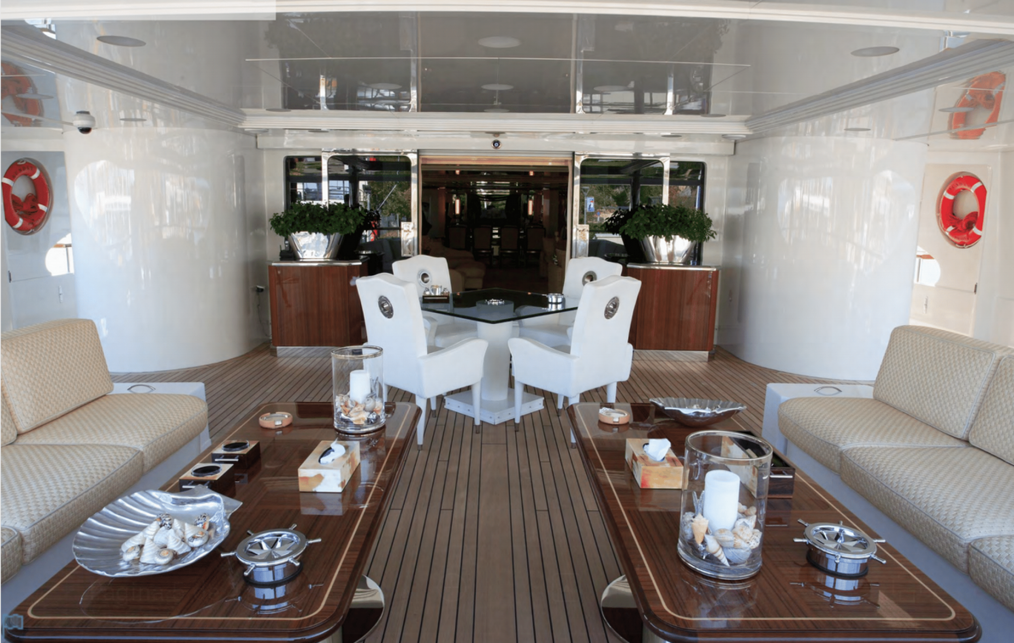 Sunday charter mega yacht outdoors