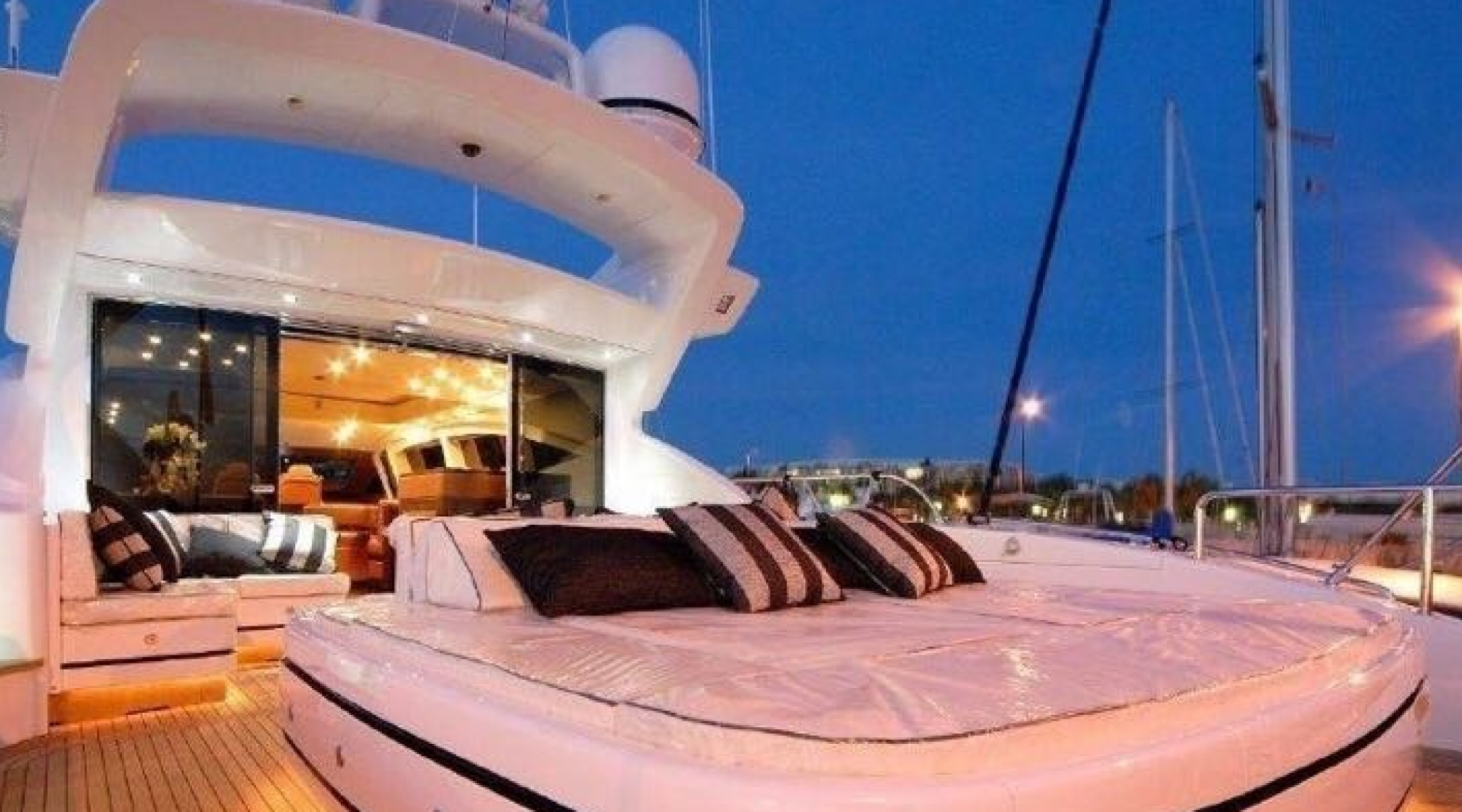 Rental yacht LUX ONE outdoors