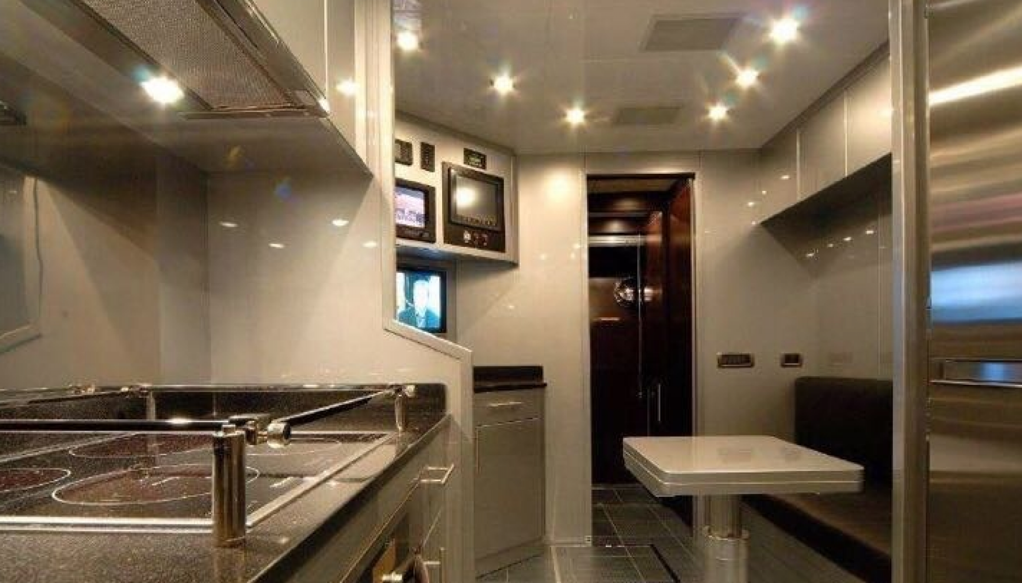 Rental yacht LUX ONE galley