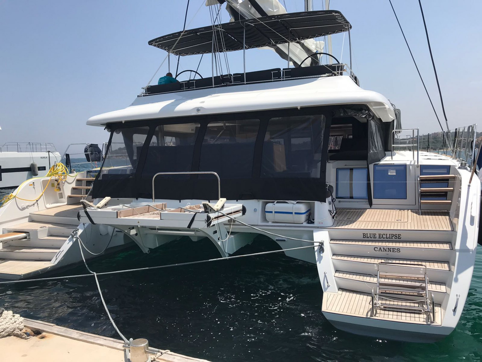 Rental catamaran  sailing