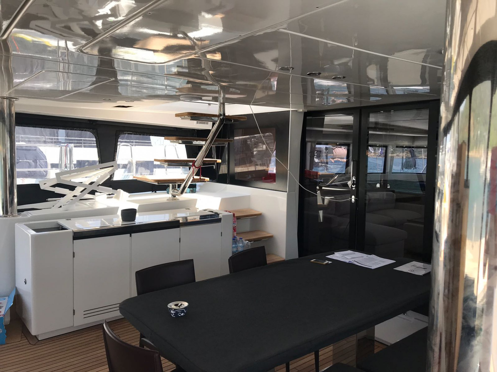 Rental catamaran  outdoors