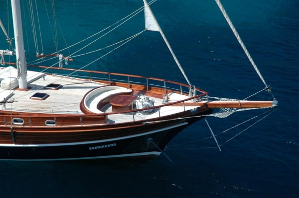 Samarkand 8 pax - Gulet charter in Turkey