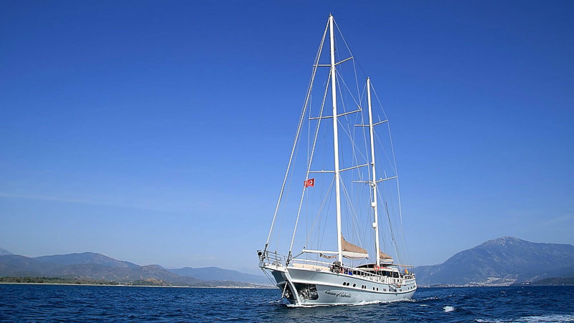 Rental gulet QUEEN OF SALMAKIS 18 pax sailing