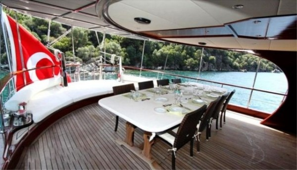 Sundeck Ilknur Sultan Gulet charter in Turkey