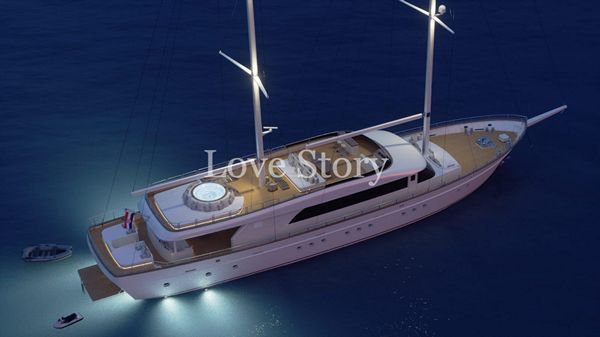 Love Story aerial view