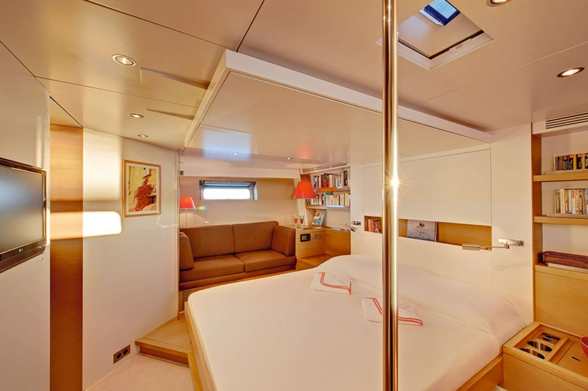 Double cabin 2 - CNB 86 - Luxury Sailboat charter
