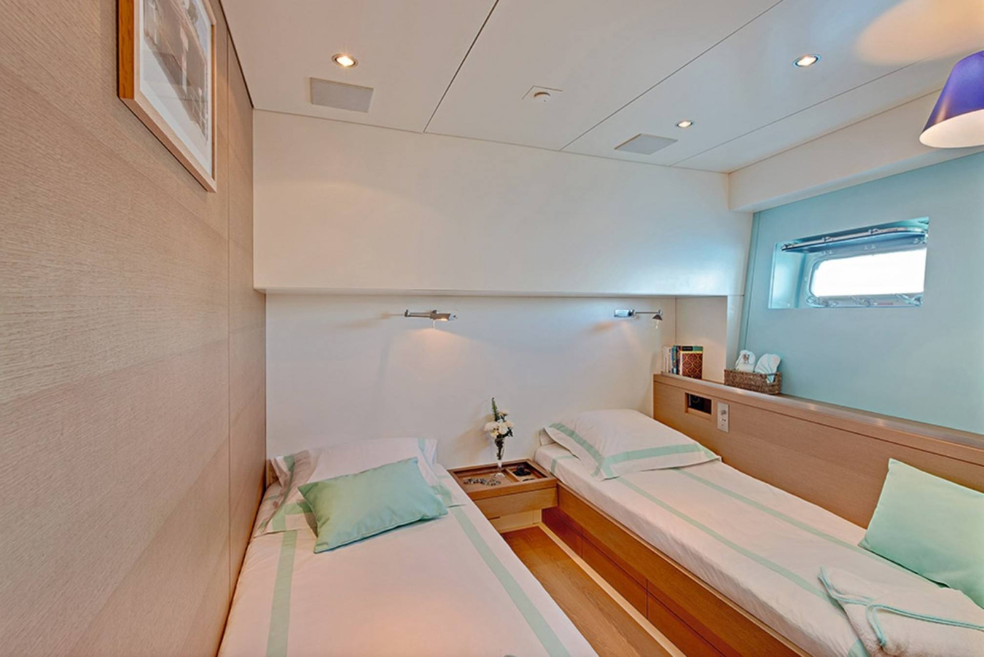 Double cabin 3 - CNB 86 - Sailboat charter French Polynesia