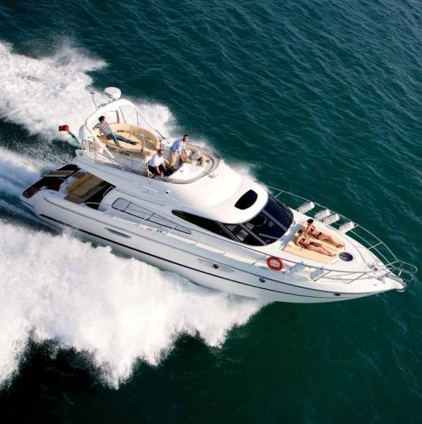Cranchi Atlantique 50 -  Yacht charter in Greece