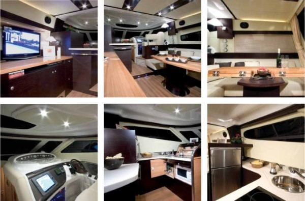 Cranchi Atlantique 50 -  Yacht charter with skipper