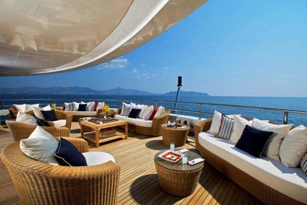 OMEGA - Megayacht charter in Greece