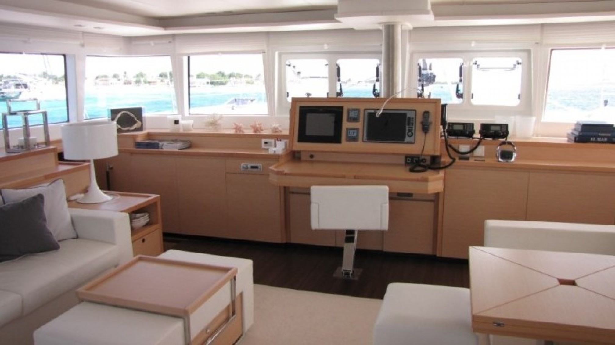 Firefly Luxury Catamaran Controls