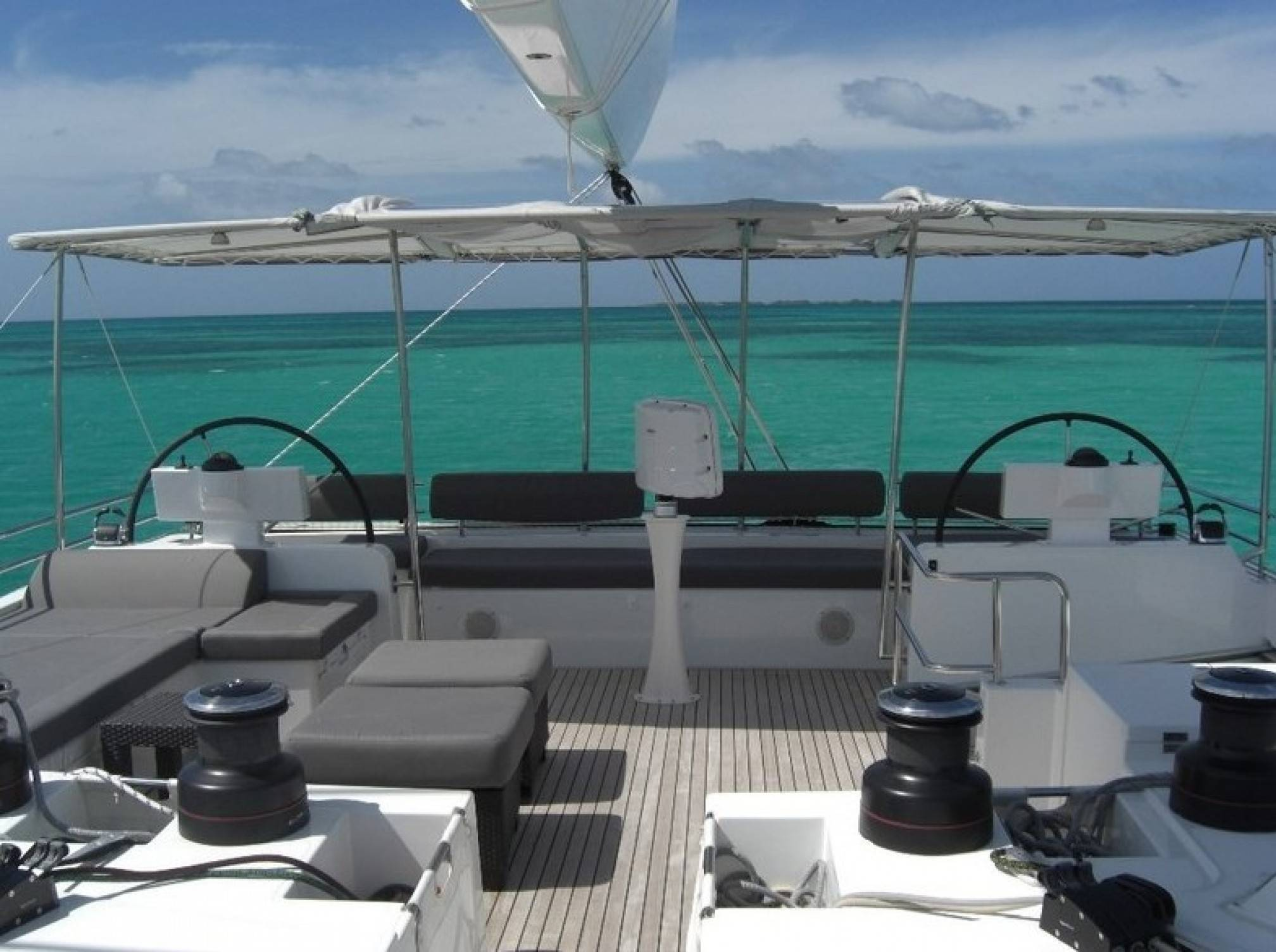 Firefly Luxury Catamaran Deck