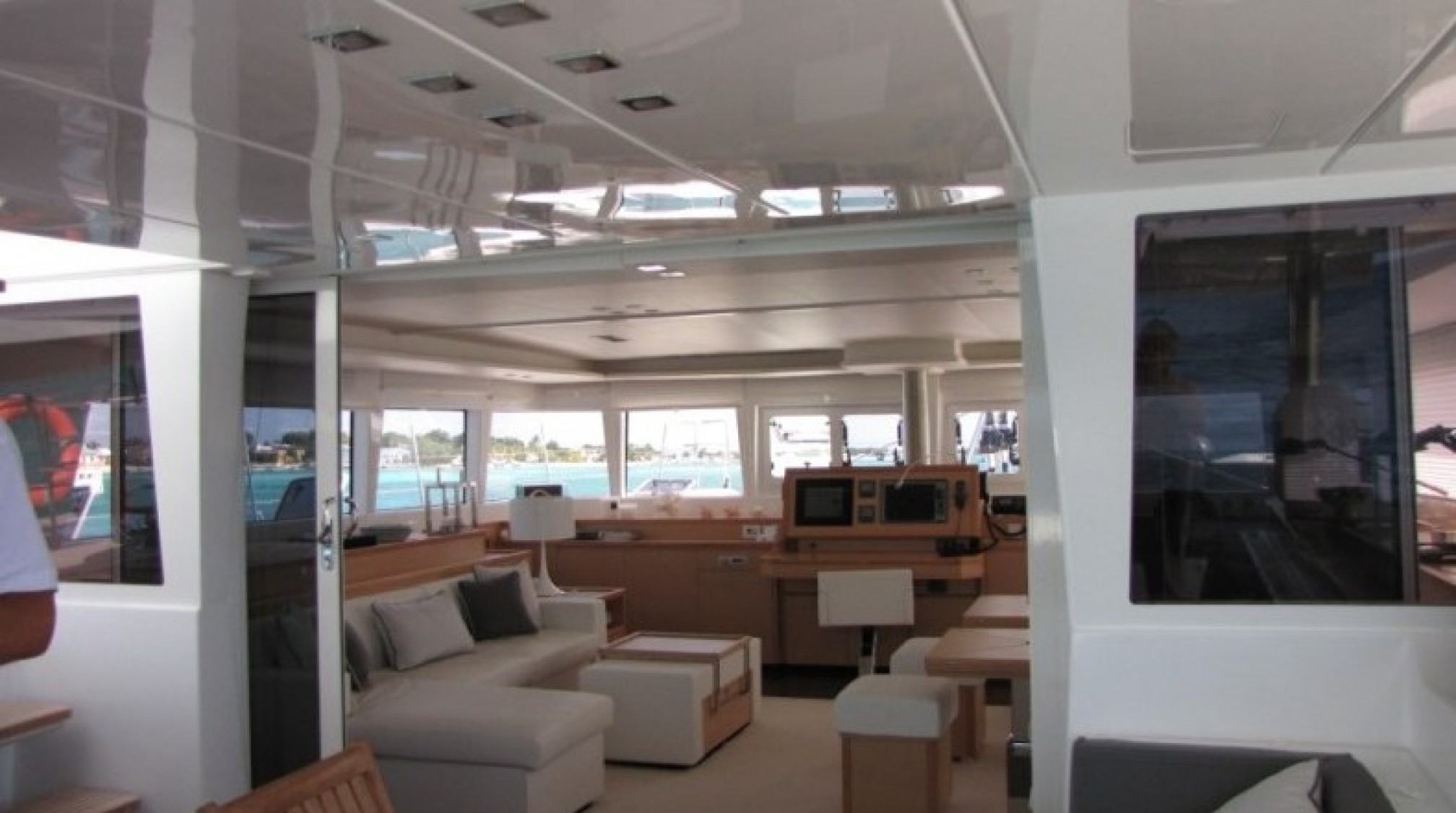 Firefly Luxury Catamaran  Saloon