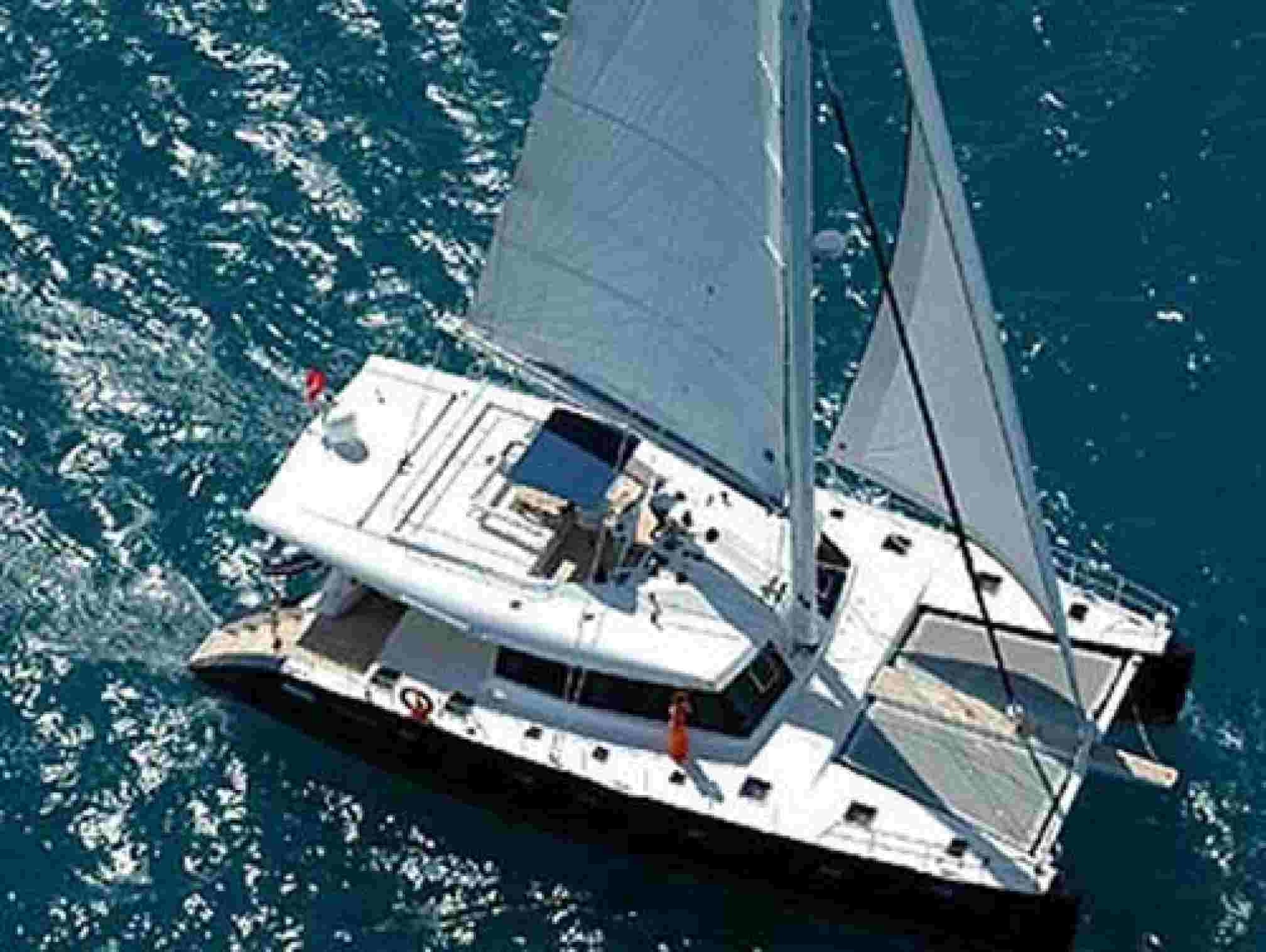 Sunreef 62 catamaran charter sailing